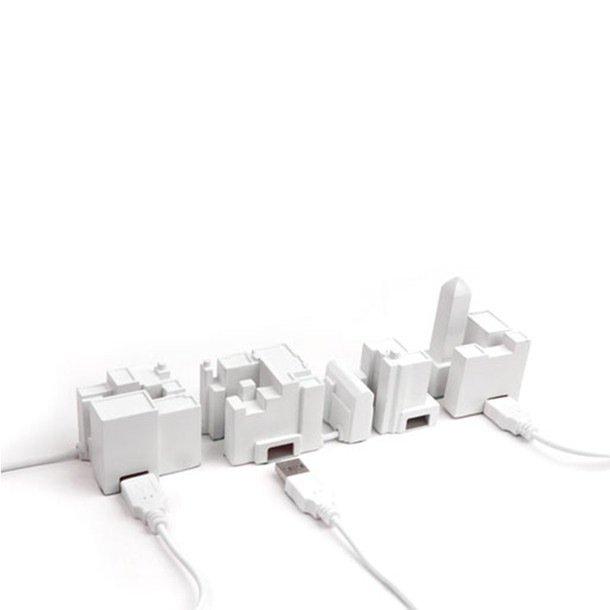 Lonely City USB Hub