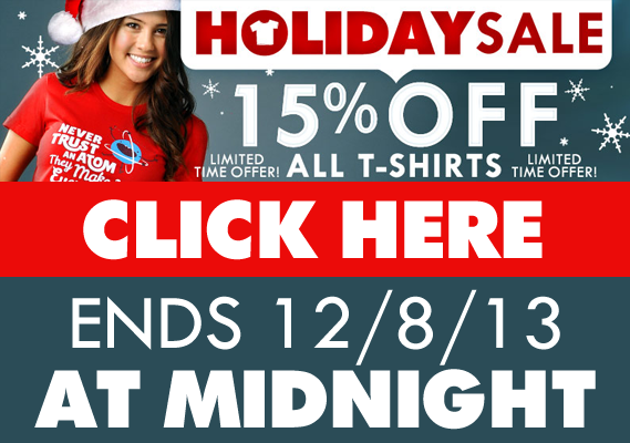15% Off Holiday Sale