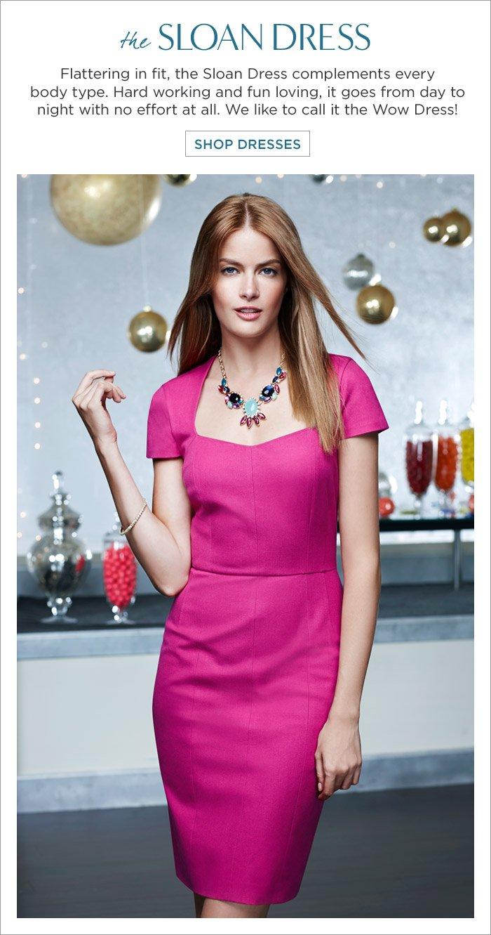 the SLOAN DRESS | SHOP DRESSES
