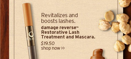 Revitalizes and boosts lashes damage reverse Restorative Lash  Treatment and Mascara SHOP NOW
