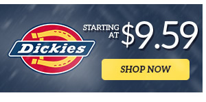 Dickies starting at $9.59 - Shop Now
