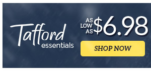 Tafford essentials as low as $6.98 - Shop Now