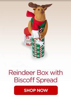 Reindeer Box with Biscoff Spread