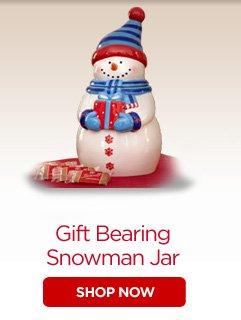 Gift Bearing Snowmen Tin