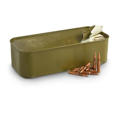 7.62x54R 147 grain Steel Core FMJ Ammo