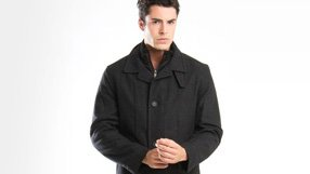 Men's Wool and Down Coats