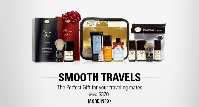 Smooth Travels - The Perfect Gift for your traveling mates