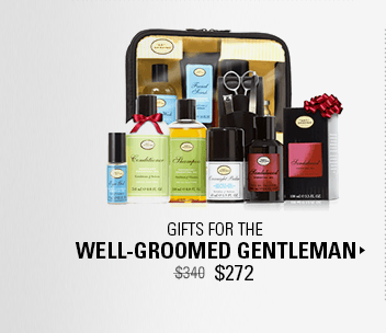 Gifts for the Well-Groomed Gentleman