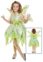Girls Tinker Fairy Costume