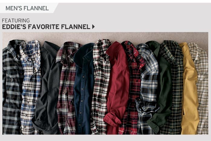 Shop Men's Eddie's Favorite Flannel Shirt