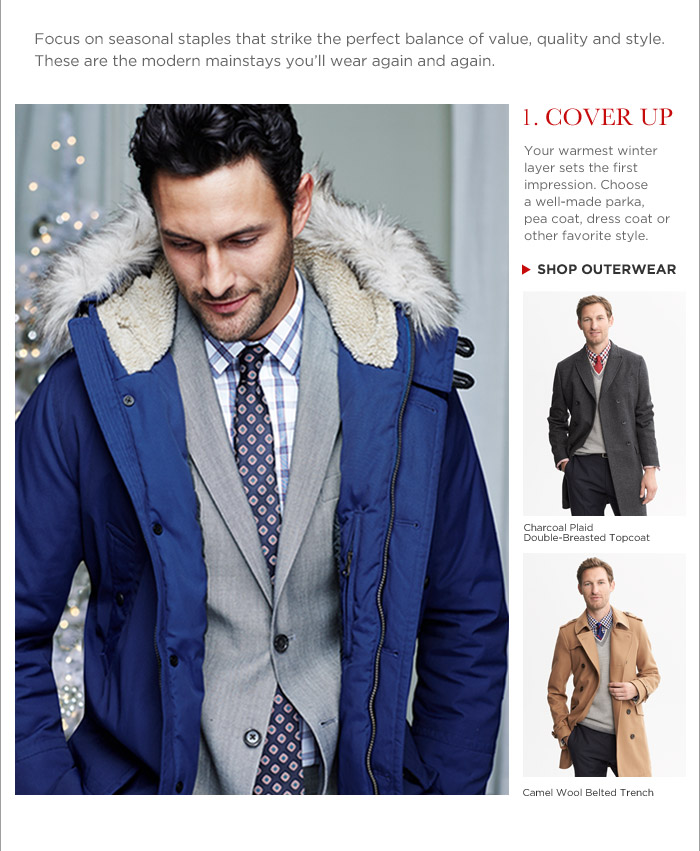 1. COVER UP | SHOP OUTERWEAR