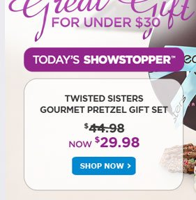 Today's Showstopper - Shop Now!