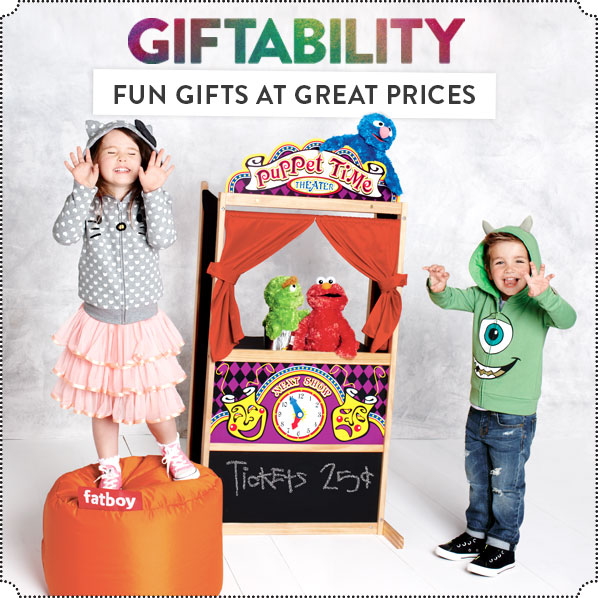 GIFTABILITY - FUN GIFTS AT GREAT PRICES