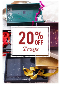 20% off trays