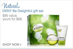 DKNY Be Delightful gift set.