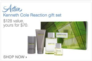 Kenneth Cole Reaction gift set.