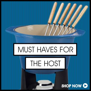 Must-Haves For The Hosts