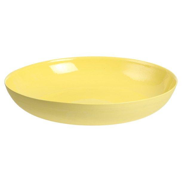 Pebble Bowl Large Yellow