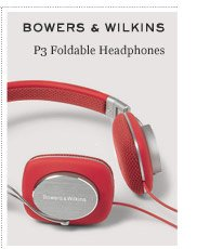 BOWERS & WILKINS P3 Foldable Headphones