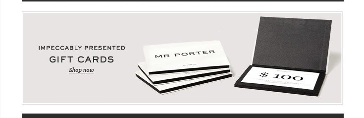Impeccably Presented Gift Cards. Shop now. Shop now