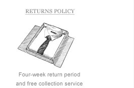 Returns Policy: Four-week return period and free collection service