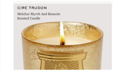 CIRE TRUDON Melchior Myrrh And Benzoin Scented Candle.