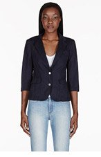 BAND OF OUTSIDERS Navy Schoolboy Blazer for women