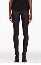 HELMUT HELMUT LANG Black Slate Stretch Leggings for women