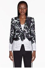 PETER PILOTTO Black & White Floral Jacket for women
