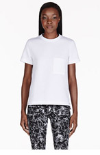 PROENZA SCHOULER White Neoprene T-shirt for women