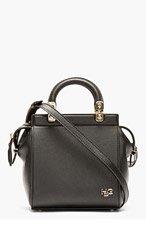 GIVENCHY Black Monogrammed Mini Shoulder Bag for women