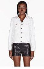 PROENZA SCHOULER White PS-J Jean Jacket for women