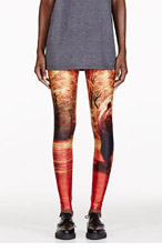 WE ARE HANDSOME Orange The Kindred Stretch Legging for women