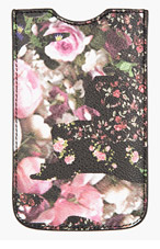 GIVENCHY Black & Pink pebbled Floral Camo print iPhone 5 case for women