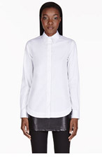 GIVENCHY White Classic Blouse for women