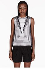 PETER PILOTTO White Astrid Silk Blouse for women
