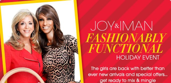 JOY & IMAN | FASHIONABLY FUNCTIONAL