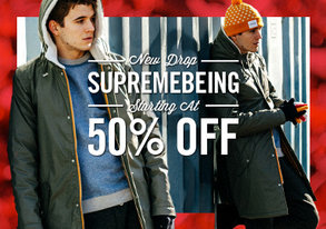 Shop NEW DROP: Supremebeing from 50% Off