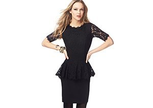 Lovely Lace: Dresses, Tops & Skirts