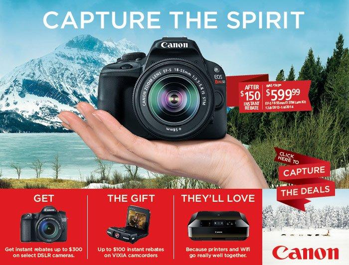 Canon - Capture the Spirit