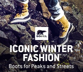 Iconic Winter Boots From Sorel