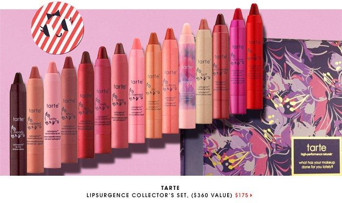 TARTE LipSurgence Collector's Set ($360 value), $175
