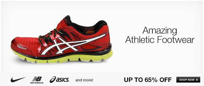 Amazing Athletic Footwear