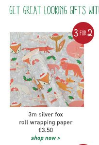 3m silver fox roll wrapping paper