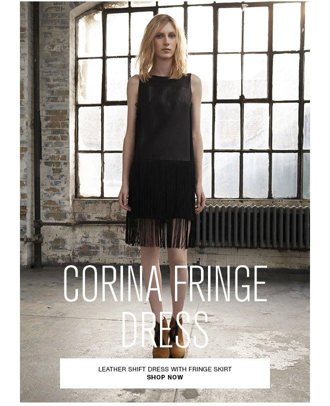 Corina Fringe Dress