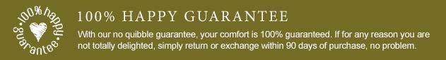 100 % Happy Guarantee