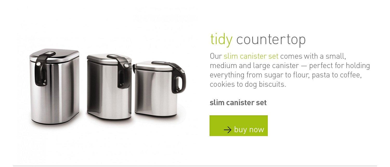 slim canister set