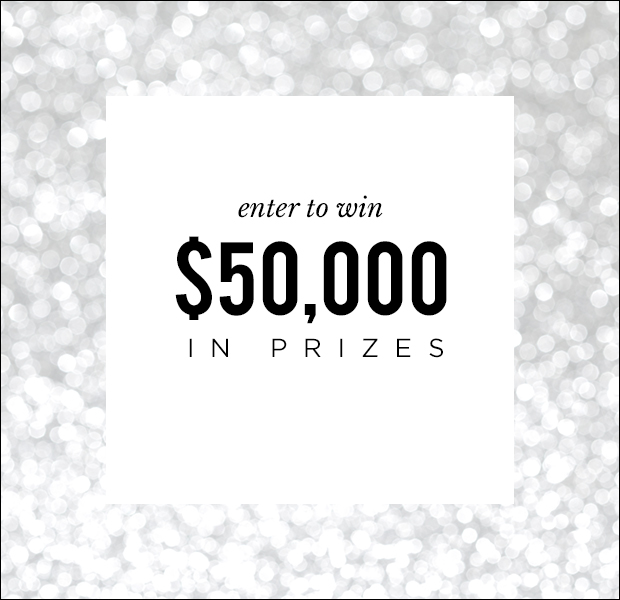 As a token of our appreciation for being a Who What Wear reader, we're giving away over $50,000 in lust-worthy prizes.