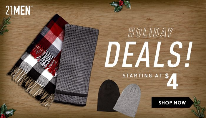 21MEN Holiday Deals