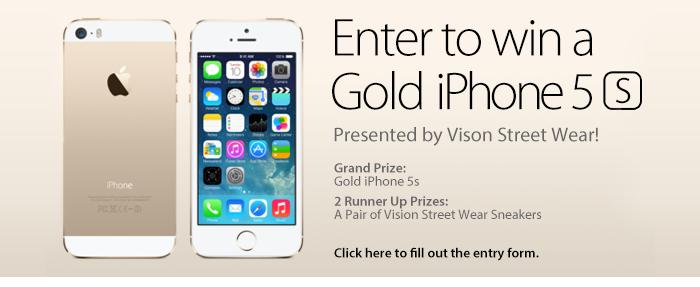 Shop DrJays.com - Win a Gold iPhone